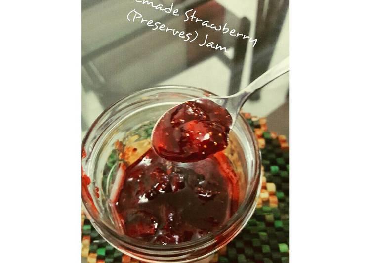 Homemade Strawberries (Preserves) Jam