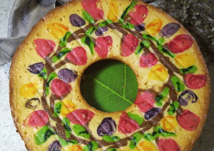resep memasak Jelita Cake metode Butter Cake (193) - Sajian Dapur Bunda