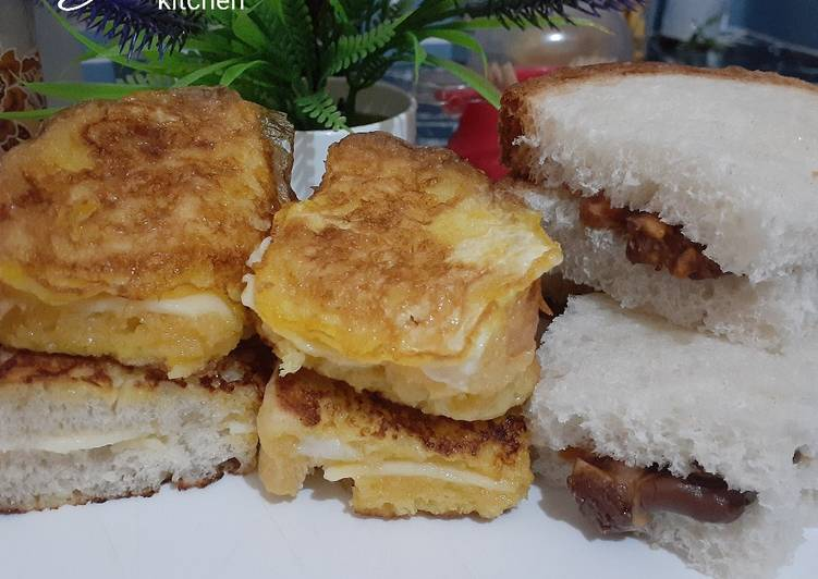 Resep Simple Sandwich🥪³ Top