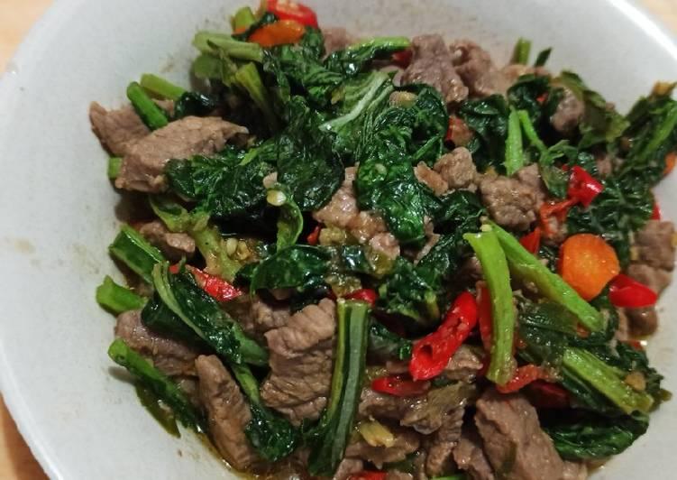 Resep Maira recipe : Daging caisim teriyaki Yang Populer Dijamin Ngiler