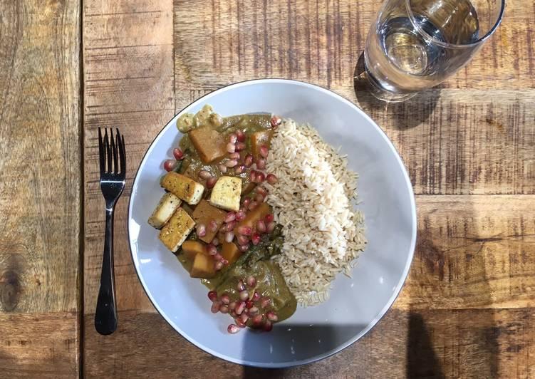 VeganFesenjān inspired stew