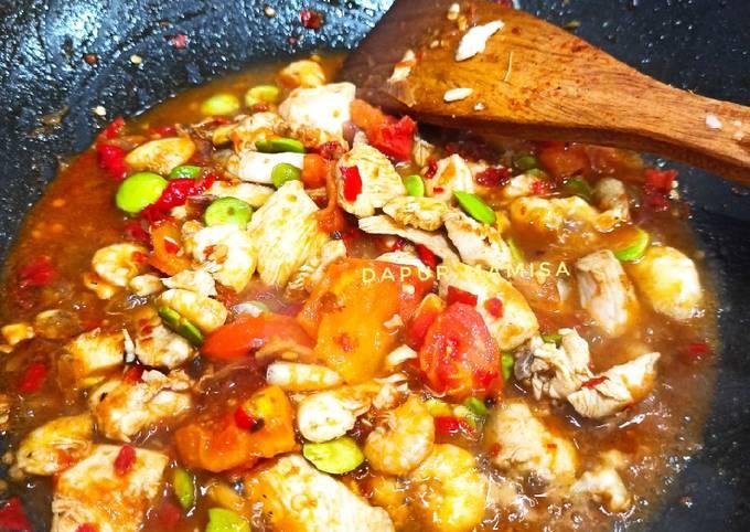 Ayam Pete Balado