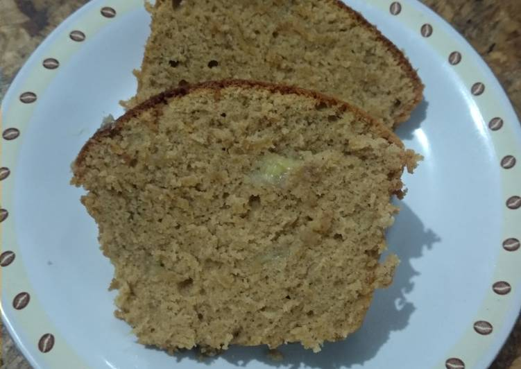Banana Cake with palm sugar n cinnamon