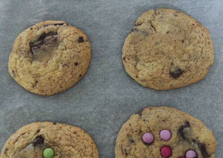 Recette Appétissante Cookies moelleux