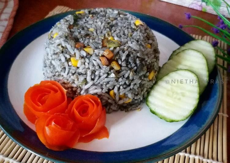 Nasi Goreng Hitam MPASI 12m+