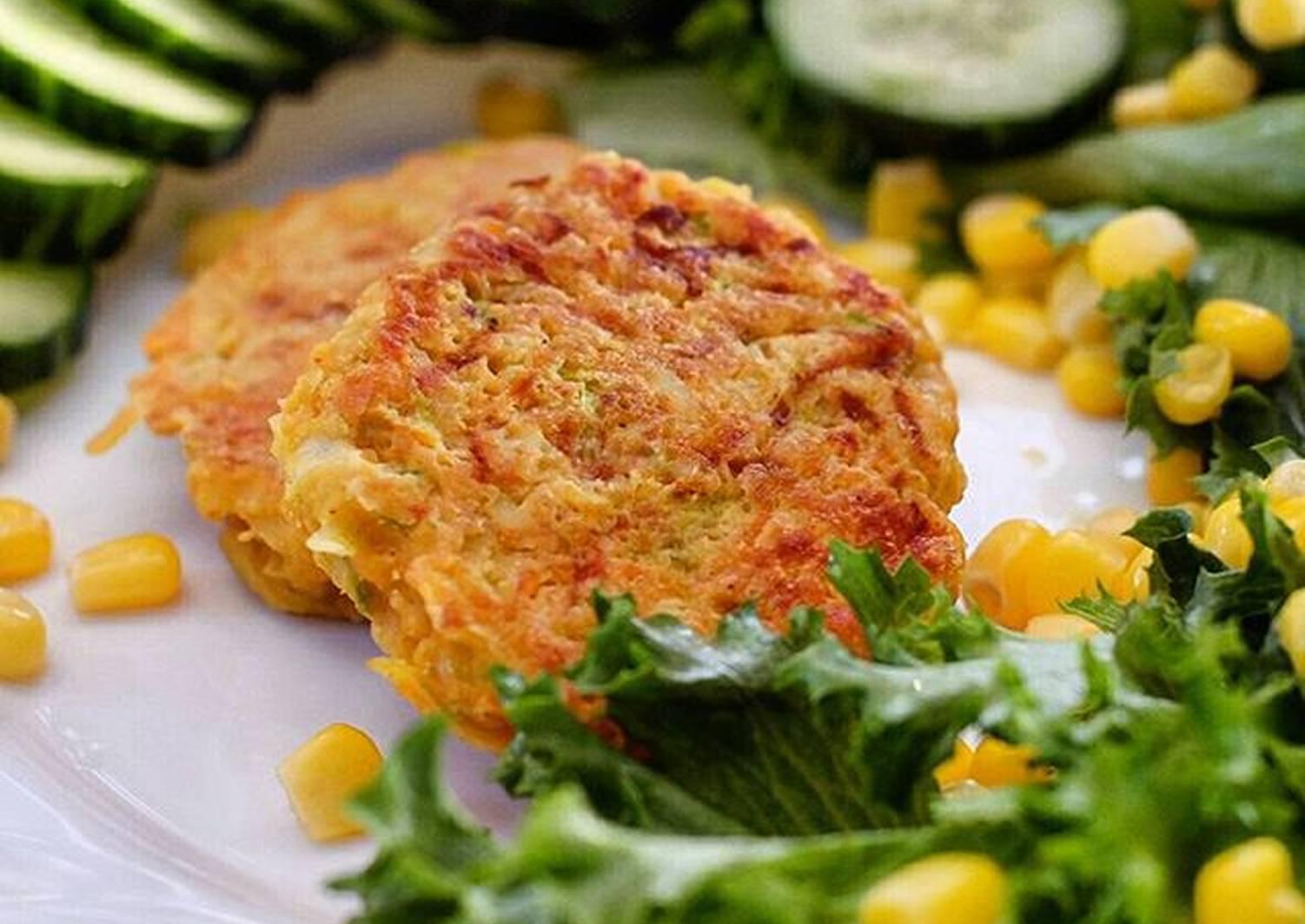 Рецепт овощных котлет с фото