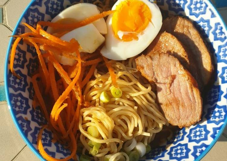Recipe: Appetizing Ramen noodle soup