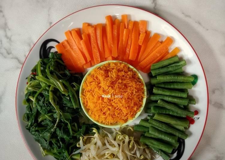 22. Urap Sayuran (anti basi)