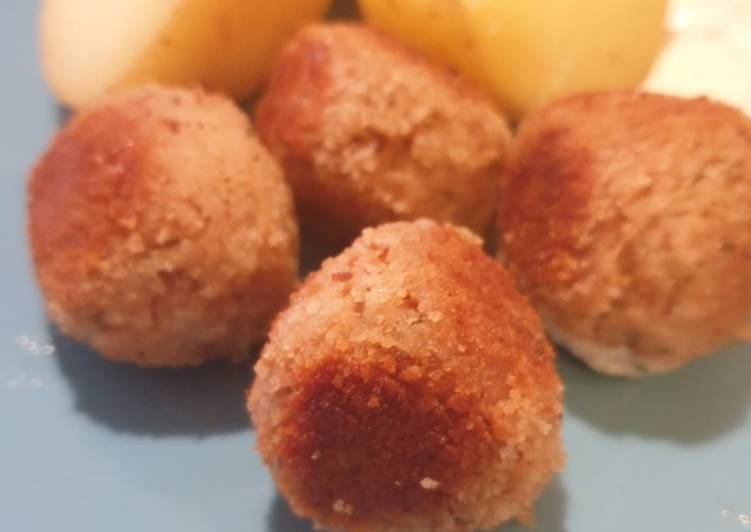 Steps to Prepare Favorite Tuna meatballs
