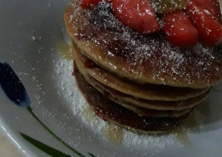"Pan""cake"" (mocha & matcha flavour)"