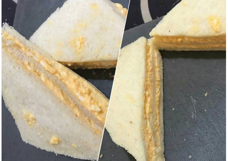 Resep Tamago Sando (Sandwich Telur Jepang) Paling Joss