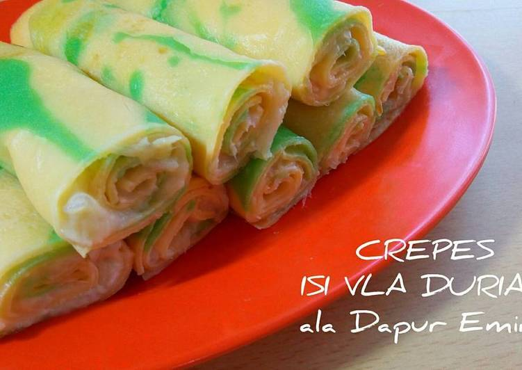 Crepes Isi Vla Durian