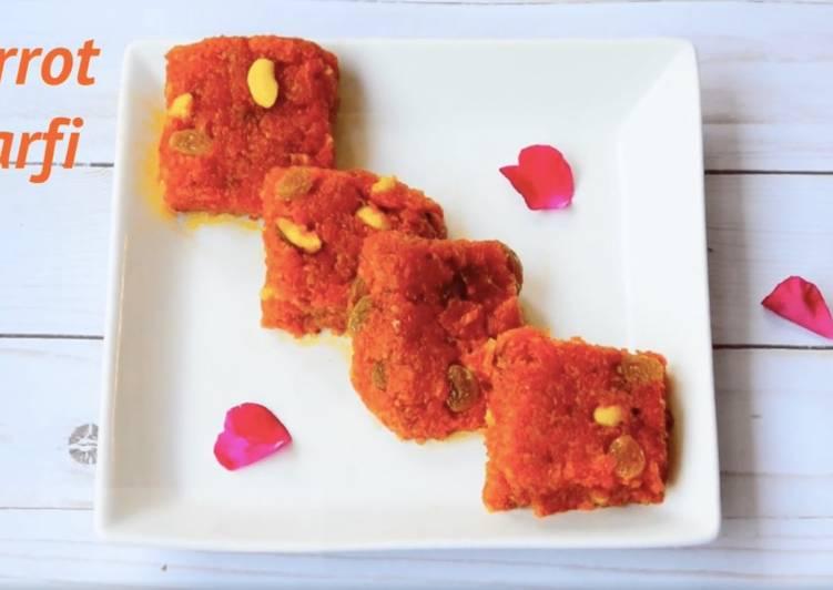Recipe of Award-winning Carrot Burfi