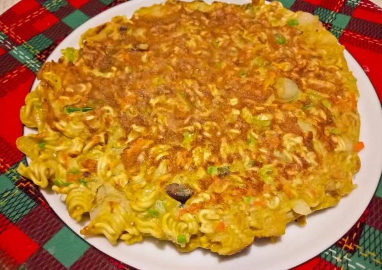 Omelette mie crunchy