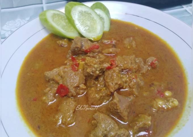 Resep Gulai daging sapi bumbu indofood yang lezat Untuk Jualan