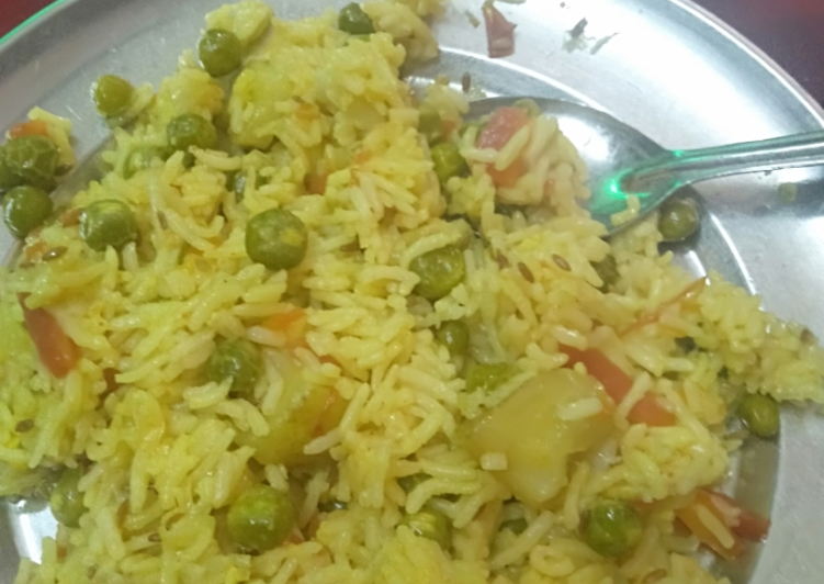 Recipe of Most Popular Matar pulao