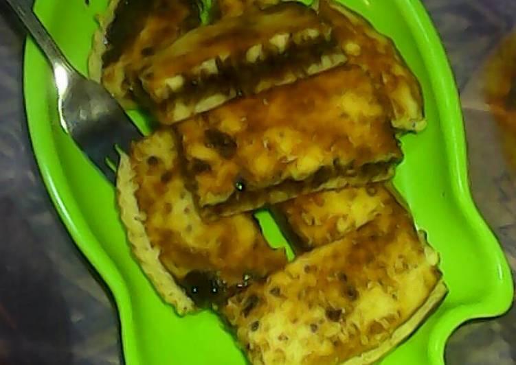 Cara Gampang Menyiapkan Martabak manis teflon ala mama tia :) yang Lezat