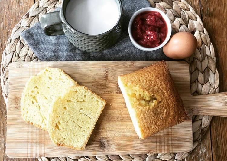 Cake à la fleur d'oranger (sans lactose)