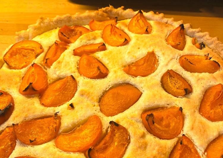 Recipe of Perfect Apricot & almond frangipane tart