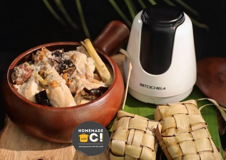 Homemade Opor Ayam & Ketupat