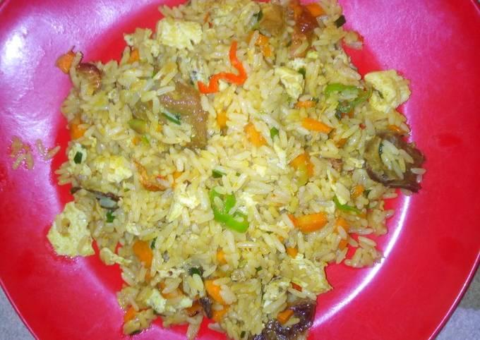 Recipe of Quick Chinese rice