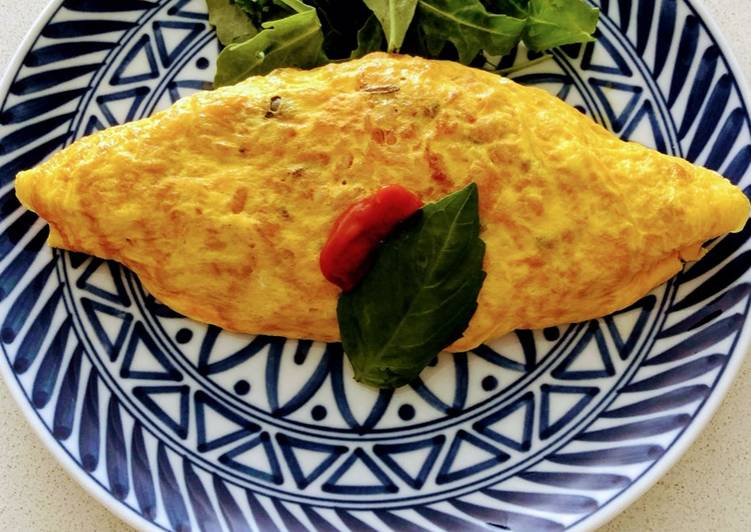 Step-by-Step Guide to Prepare Speedy Omu rice  (Japanese style Rice omelette)
