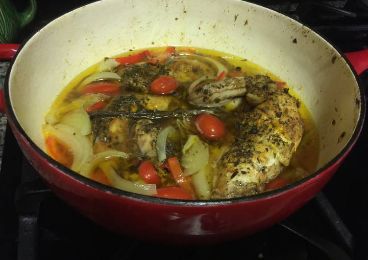How to Prepare Homemade Chicken Cacciatore