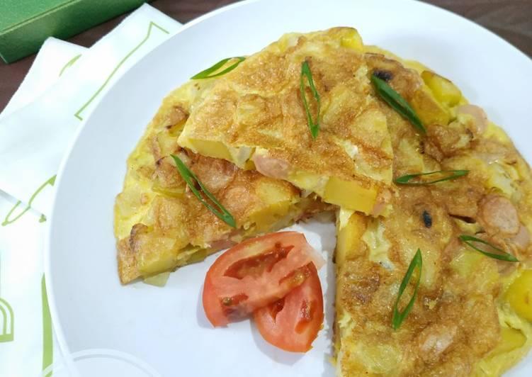 Resep Bauernomelette (Omelette ala Jerman) Top