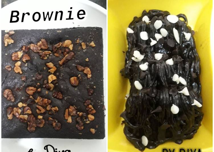 How to Prepare Quick Chocolate Brownie