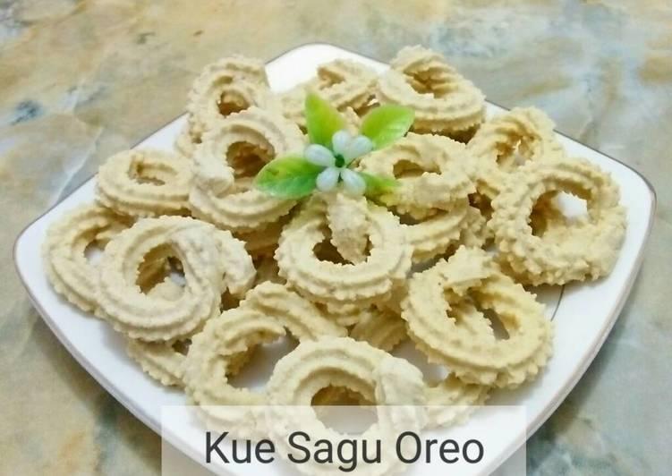Kue Sagu Oreo