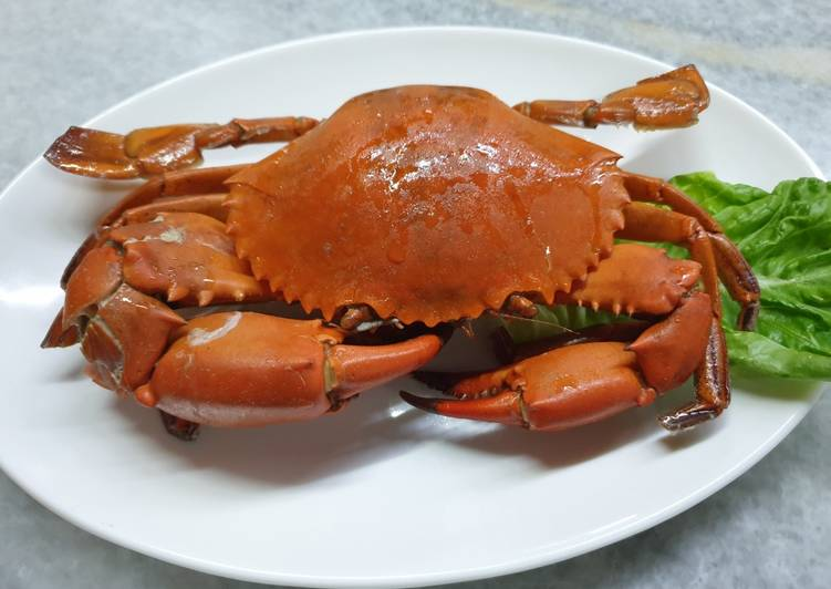 Step-by-Step Guide to Prepare Homemade Salt Baked Crab #