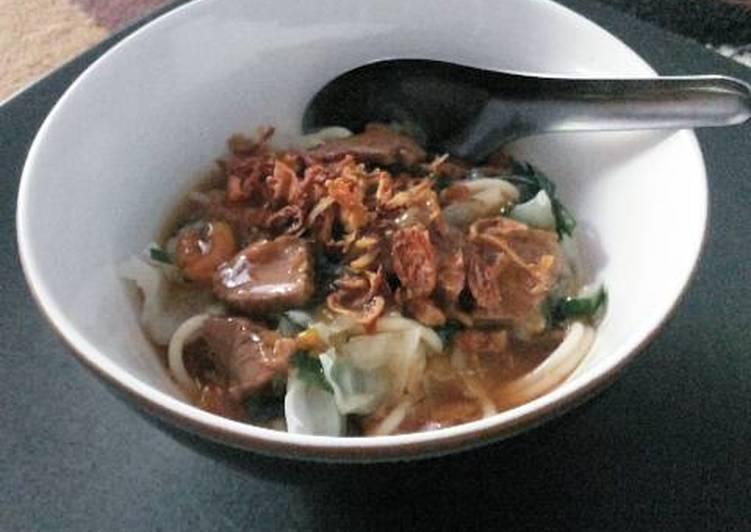 Resep Mie Ongklok Wonosobo Terbaik
