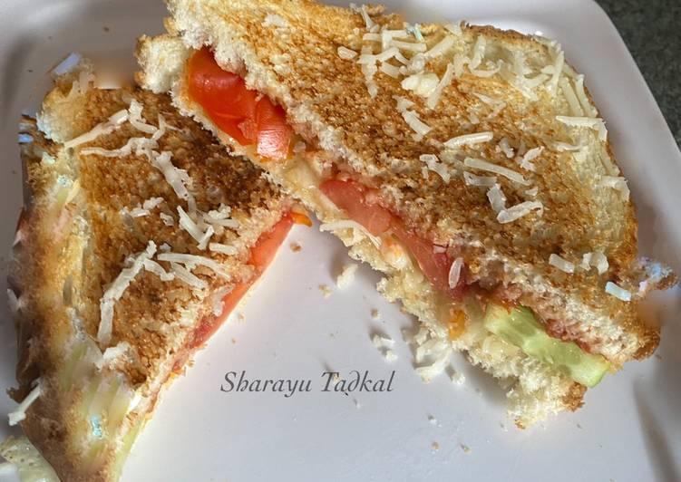 Easiest Way to Cook Tasty Salsa Veg Sandwich