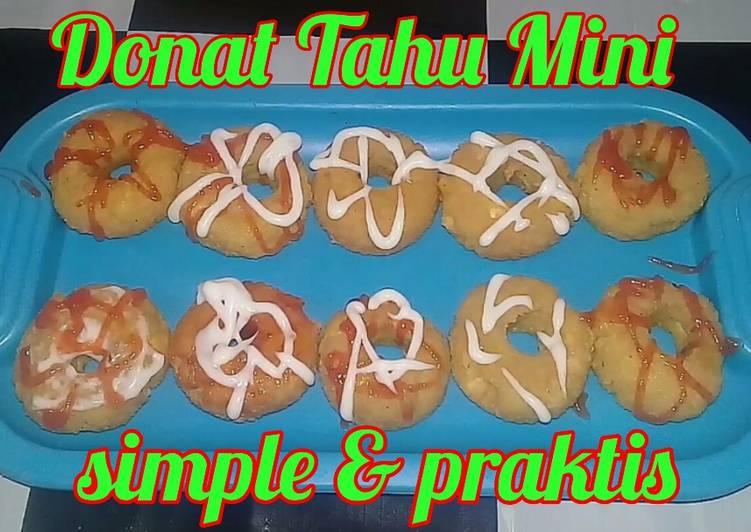 Resep Donat Tahu Mini | Ide Bisnis | Cocok Untuk Jualan ...