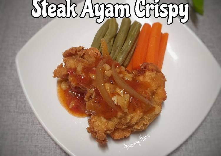 Steak Ayam Crispy