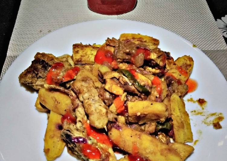 How to Improve Your Mood with Food Onepot matoke and chicken#foodphotographychallenge