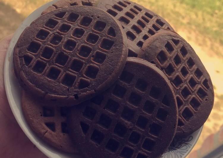 La Délicieuse Recette du Gaufrettes chocolat à la poêle