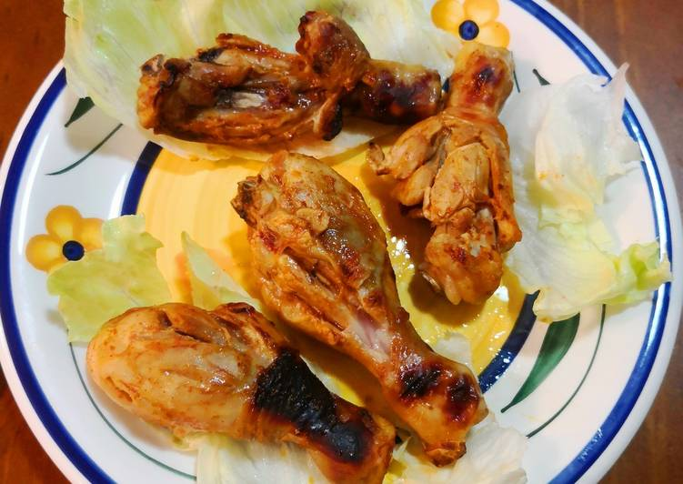 Ayam Bakar dg Sambal Padang🇮🇩 (Padang'sGrilledChicken w Sauce)