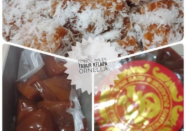 Resep Kue keranjang kukus kelapa oleh cahaya ornella - Cookpad