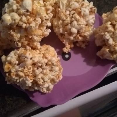 como hacer crispetas de caramelo con panela