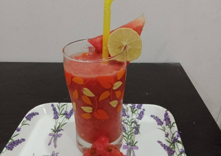 Recipe of Top-Rated Watermelon mojito