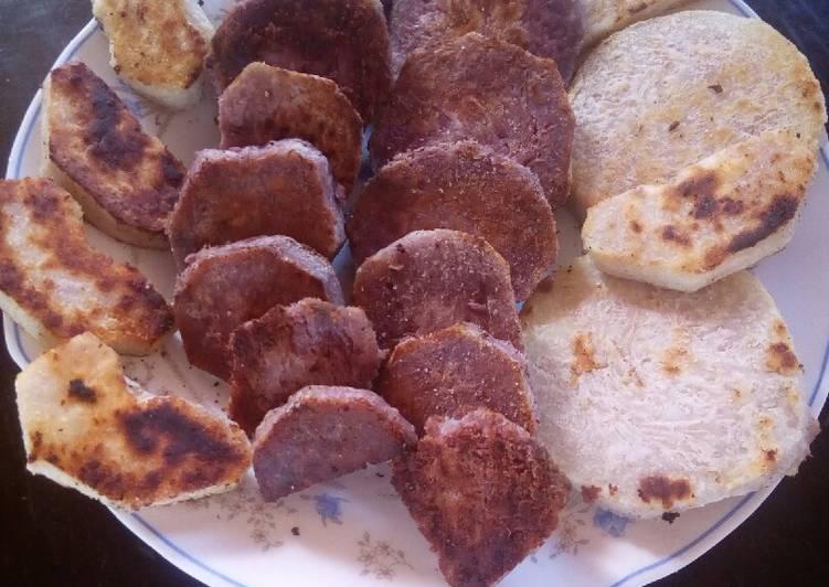 Pan fried ndumas # author marathon# - Laurie G Edwards