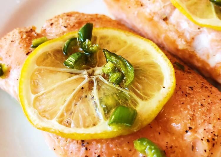 Hot Honey Roasted Salmon