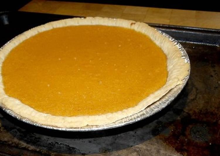 Sandy's Sweet Potato Pie