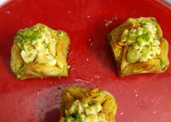 How to Recipe Delicious Cashewnut Rose Baklava