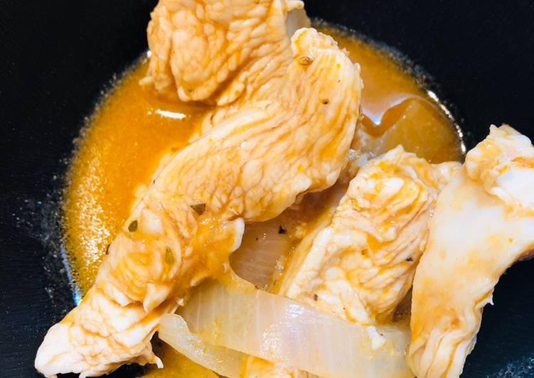 Recipe of Speedy 3 - Step Coca Cola Chicken 🐔 Strips