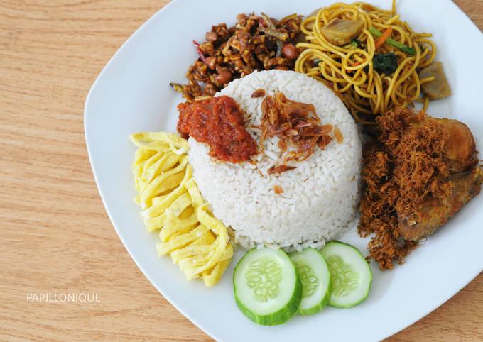 Resep Nasi Uduk Praktis Magic Com Oleh Taste Sty Cookpad