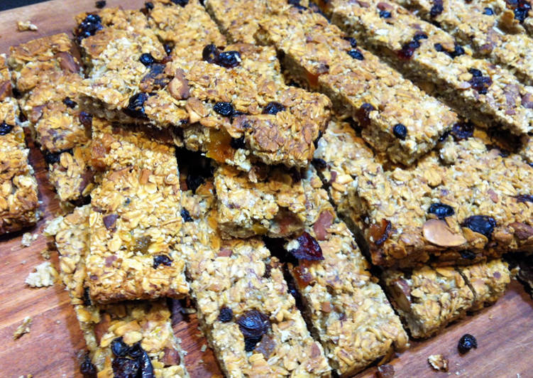 No Sugar Muesli Bars