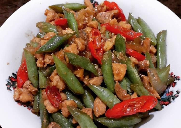 Resep Tumis Buncis Ayam Cincang Yang Mudah Bikin Ngiler