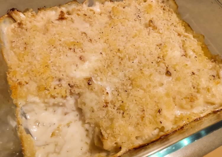Simple Way to Make Perfect Creamy baked cauliflower